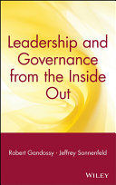 Leadership and Governance from the Inside Out Pdf/ePub eBook