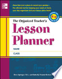 The Organized Teacher s Lesson Planner