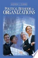 Political Behavior in Organizations Book