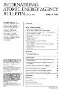 International Atomic Energy Agency Bulletin Book