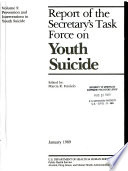 Report of the Secretary s Task Force on Youth Suicide
