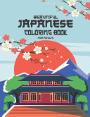 Beautiful Japanese Coloring Book for Adult