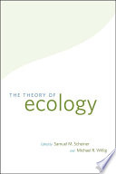 The Theory of Ecology Book