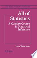 All of Statistics Book