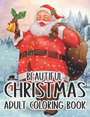 Beautiful Christmas Adult Coloring Book