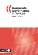 Corporate Governance in Turkey A Pilot Study