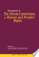 The African Commission On Human And Peoples Rights And International Law