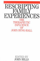 Rescripting Family Expereince Book