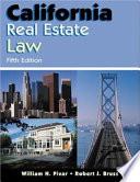 California Real Estate Law Book