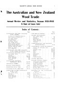 Dalgety's Annual Wool Review for Australia and New Zealand