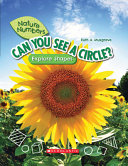Can You See a Circle   Nature Numbers   Library Edition