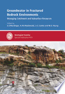 Groundwater in Fractured Bedrock Environments  Managing Catchment and Subsurface Resources