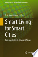 Smart Living for Smart Cities