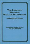 The Complete Works of William Shakespeare (abridged) Pdf/ePub eBook