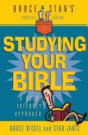 Bruce   Stan s Pocket Guide to Studying Your Bible