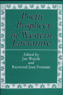 Pdf Poetic Prophecy in Western Literature