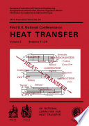 First U K  National Conference on Heat Transfer