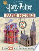 Harry Potter Paper Models Book