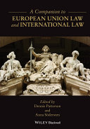 A Companion to European Union Law and International Law