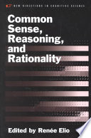 Common Sense Reasoning Rationality Book PDF