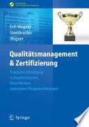 Qualitätsmanagement & Zertifizierung