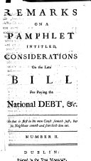 A Supplement to the Remarks on a Pamphlet [by Christopher ...