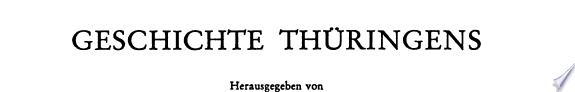 Geschichte Th  ringens  Politische Geschichte in der Neuzeit  v