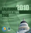 2010 California Residential Code