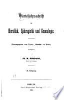 Vierteljahrsschrift für Wappen-, Siegel- und Familienkunde