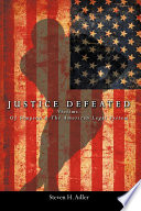 Justice Defeated Book