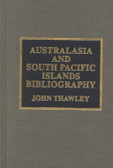 Australasia And South Pacific Islands Bibliography