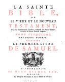 Le Second Livre De Samuel