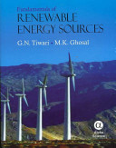 Fundamentals of Renewable Energy Sources
