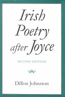 Irish Poetry After Joyce