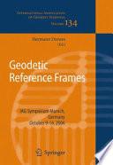 Geodetic Reference Frames Book PDF