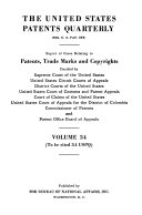 Pdf The United States Patents Quarterly