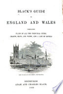 Black S Guide To England And Wales