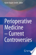 Perioperative Medicine     Current Controversies