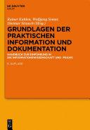 Grundlagen der praktischen Information und Dokumentation [Pdf/ePub] eBook