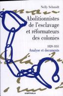 Abolitionnistes de l'esclavage et réformateurs des colonies Pdf/ePub eBook