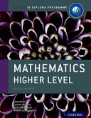 Cover of IB Mathematics Higher Level Course Book