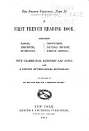 The French Principia      A first French reading book