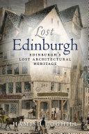 Lost Edinburgh Book