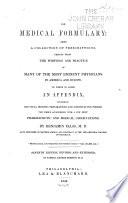 Medical Formulary     Book