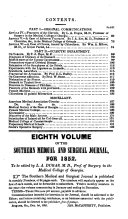 The Southern Medical and Surgical Journal