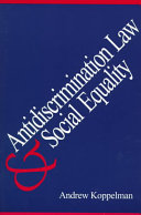 Antidiscrimination Law and Social Equality