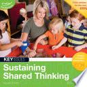 Sustaining Shared Thinking Book PDF