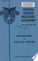 Bibliography Of Military History
