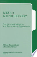 Mixed Methodology Book PDF
