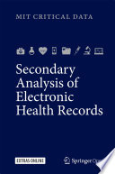 Secondary Analysis of Electronic Health Records Book
